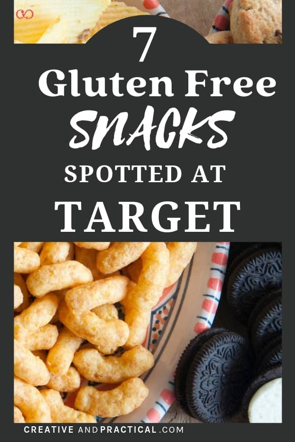 7 of the best yummy gluten-free snacks you can buy at Target. Perfect for school lunches, for college, or for road trips. Put these on your shopping list today.