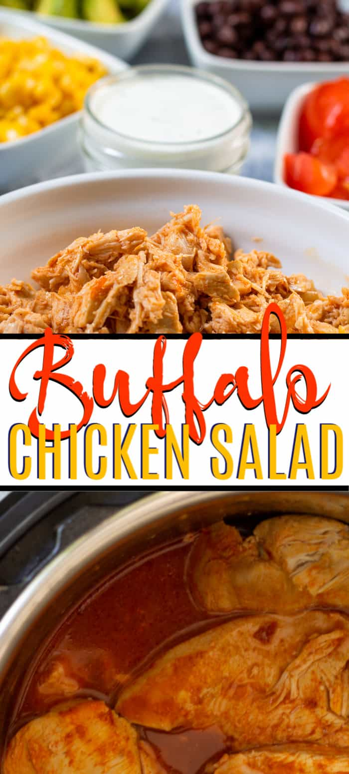 Ingredients for the Buffalo Chicken Salad