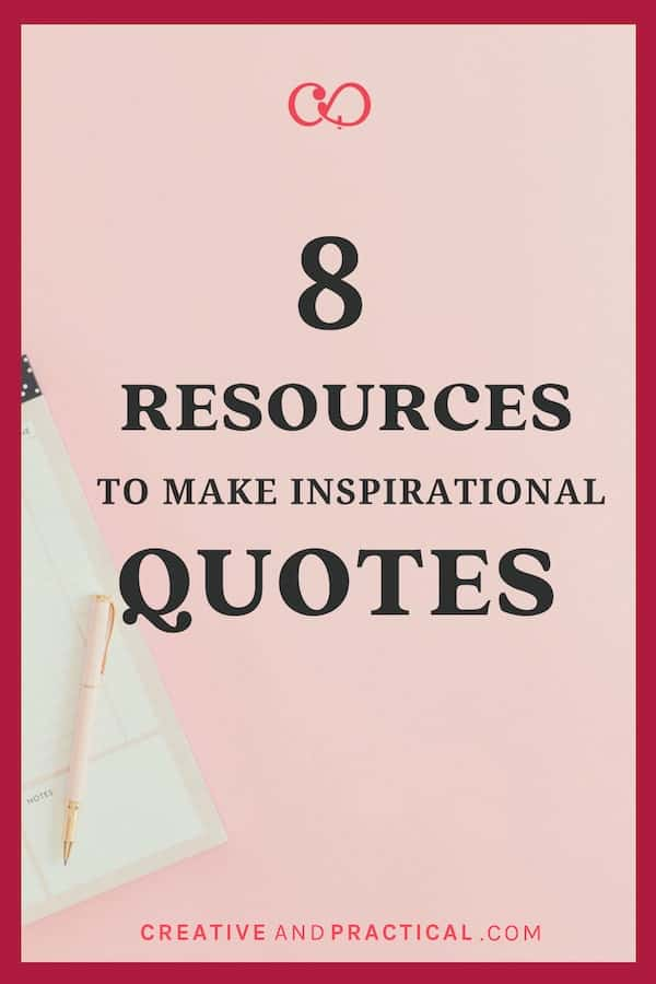 8 Resources to Make Inspirational Quotes