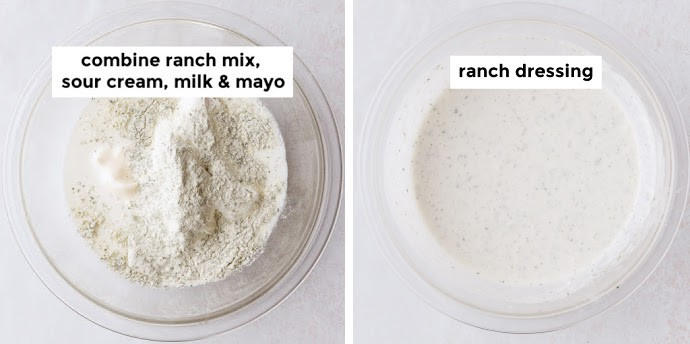 Instructions how to make Ranch dressing