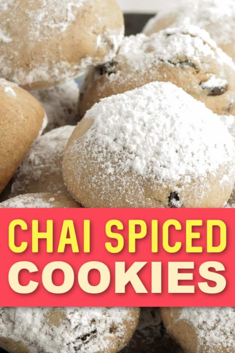 The BEST Chai Spiced Cookies