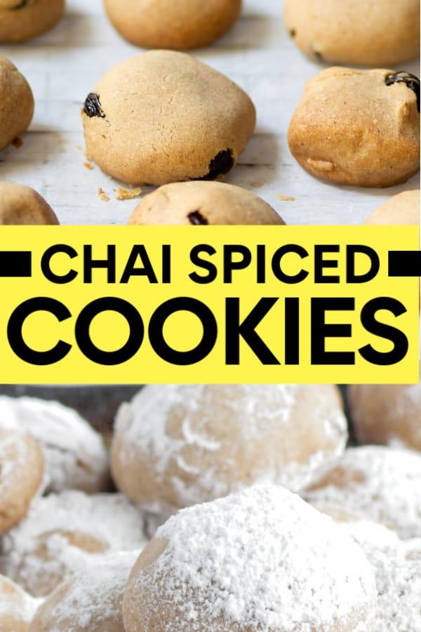 Chai Cookie Recipe
