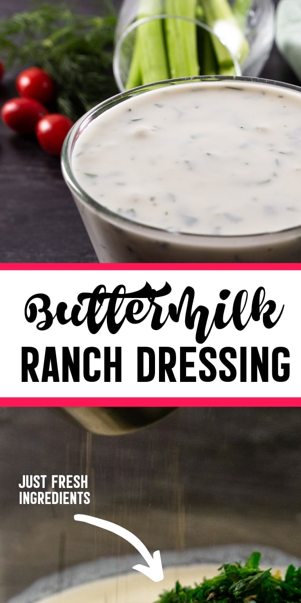 The Best Buttermilk Ranch Dressing Recipe