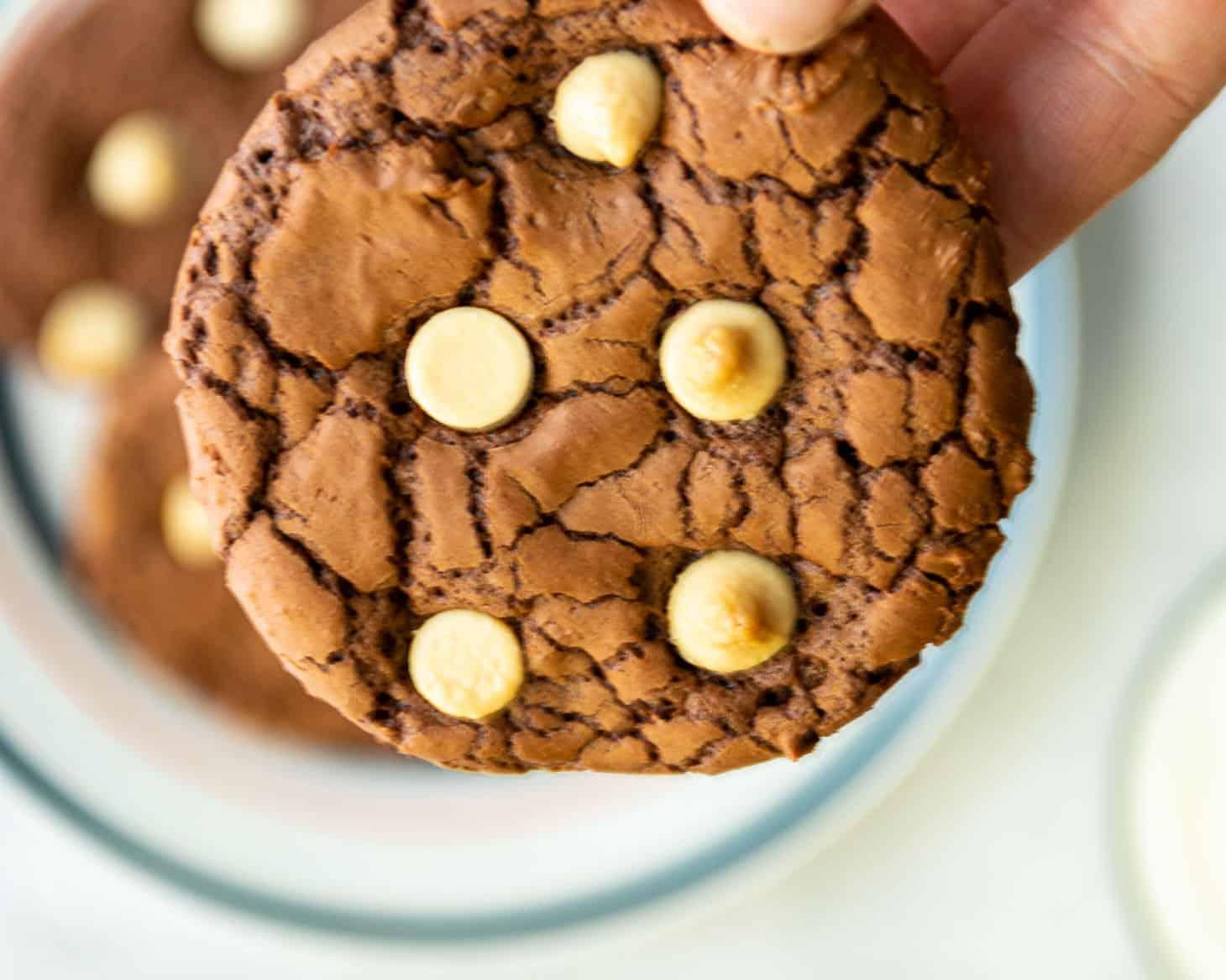 Chunky White Chocolate Chip Cookie