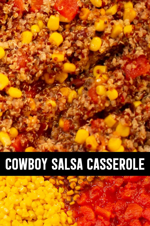 Cowboy Quinoa Casserole Closeup