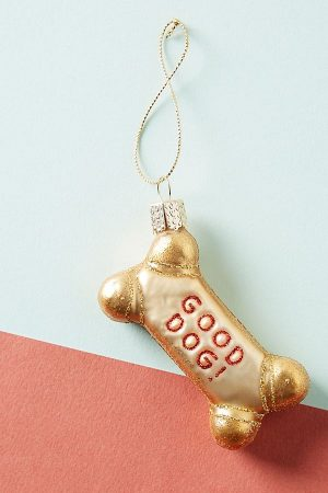 Dog Biscuit Ornament from Anthropology