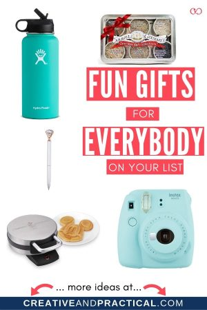 Fun Gifts for Friends and Family