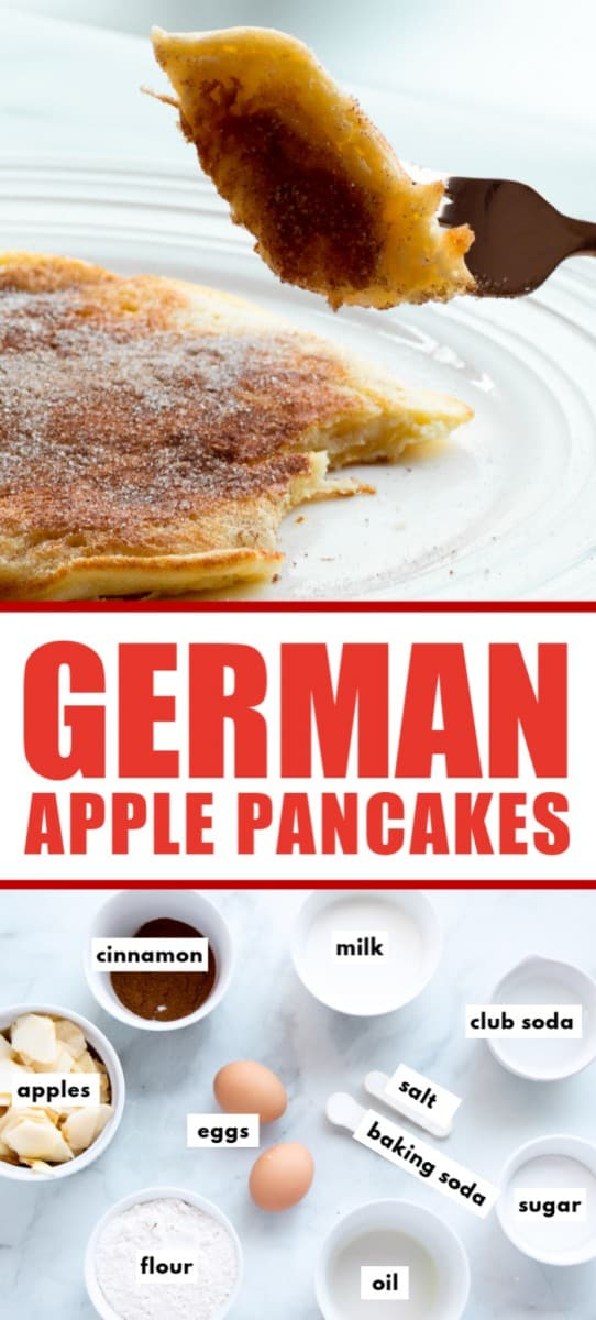 How To make German Apple Pancakes