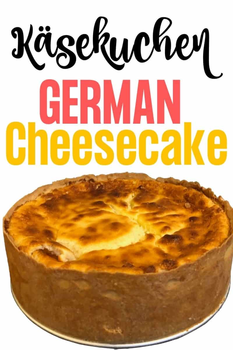 The creamiest German Cheesecake Recipe (Käsekuchen) without Quark