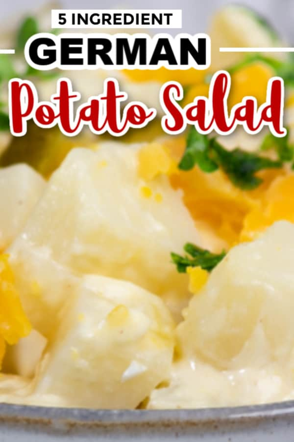 The best 5 ingredient German Potato Salad Recipe