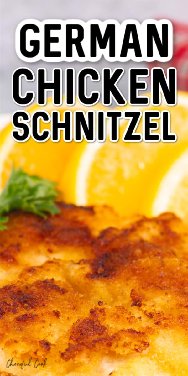 The best German Chicken Schnitzel recipe.