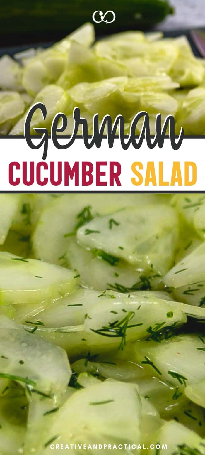 German Cucumber Salad Reipe