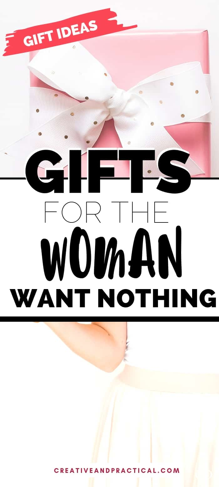 gifts for the woman who's hard to shop for