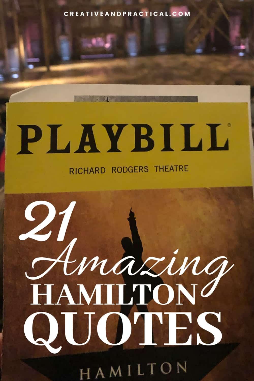 21 Amazing Hamilton Quotes