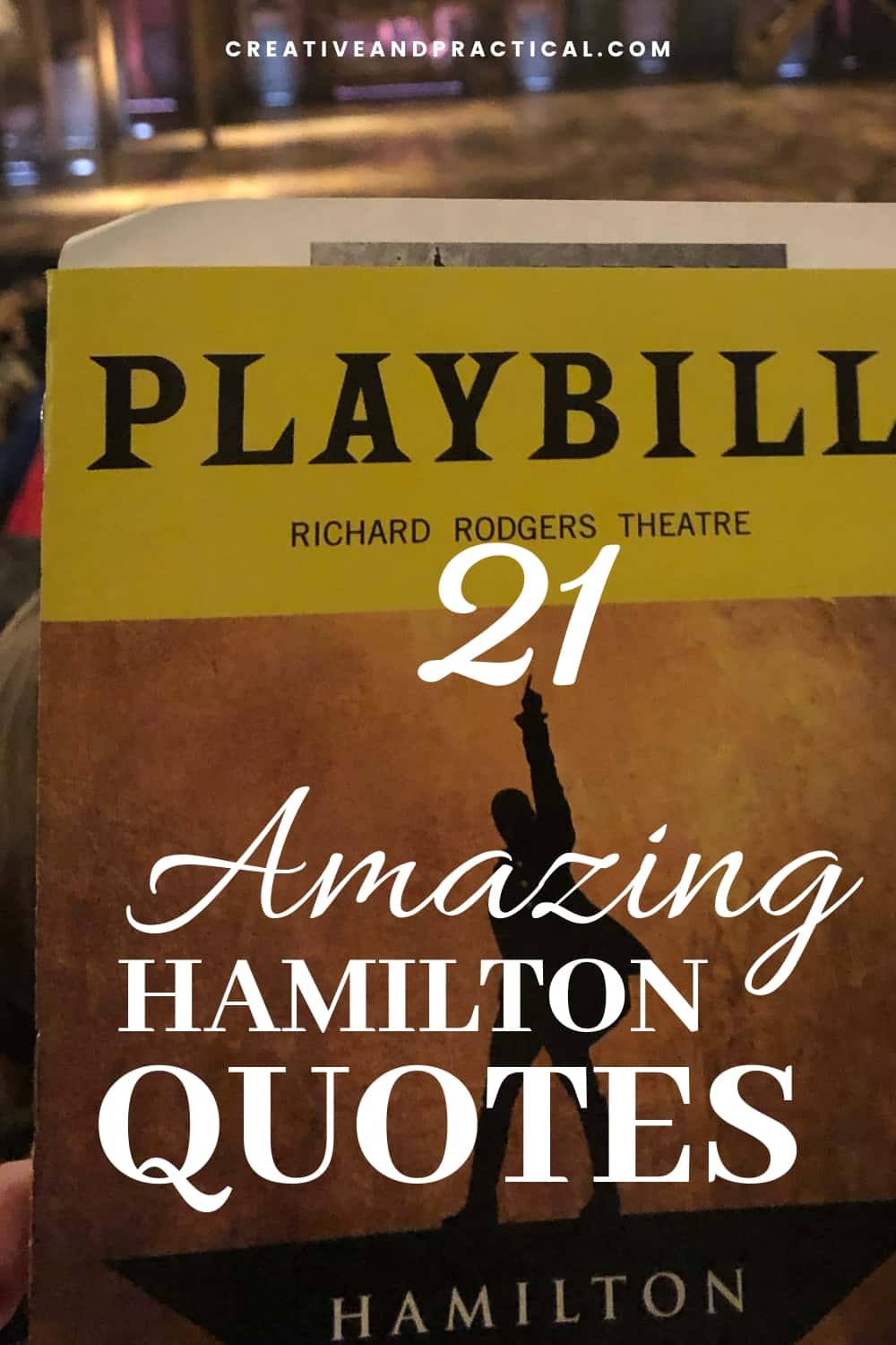 21 Ingenious Hamilton Musical Quotes The Cheerful Cook