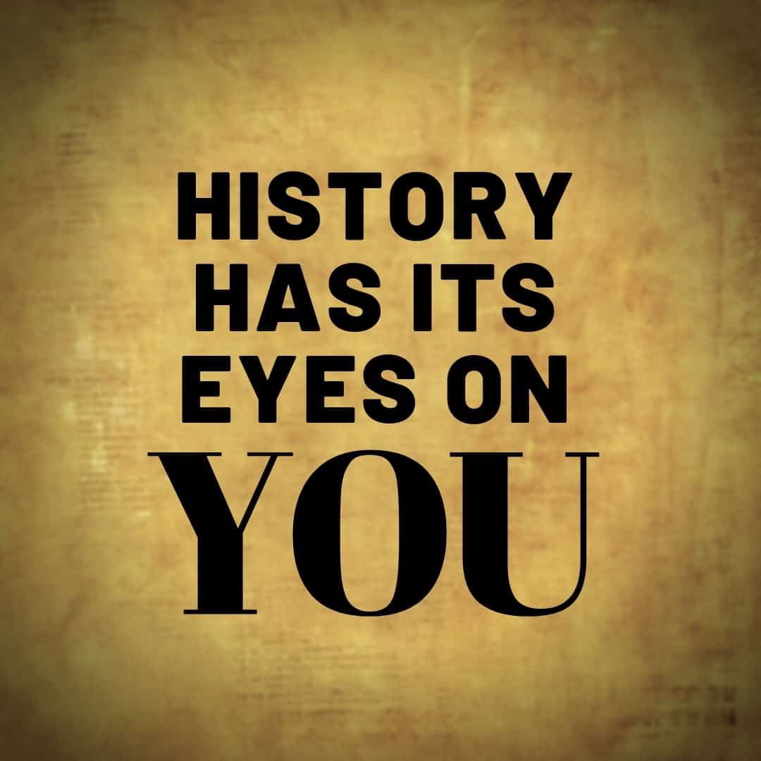 History Has Its Eyes on You - Hamilton, the Musical