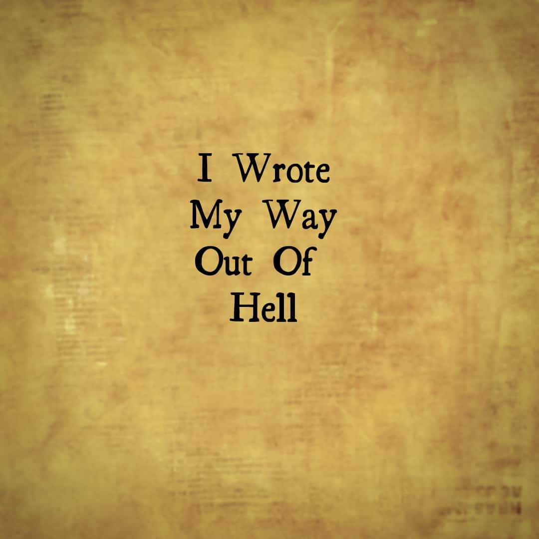 I Write My Way Out Of Hell, Hamilton The Musical