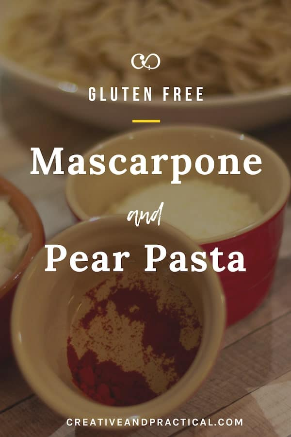 Mascarpone and Pear Pasta
