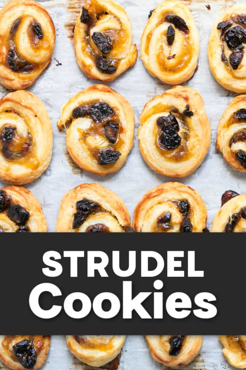 The best Strudel Cookie Recipe fresh from the oven