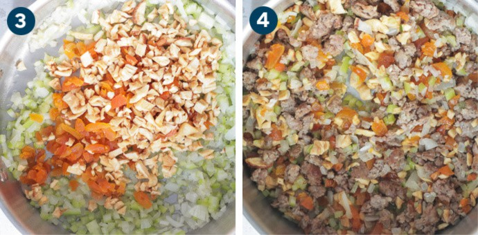 How To Make Stuffing: Step 3 and 4