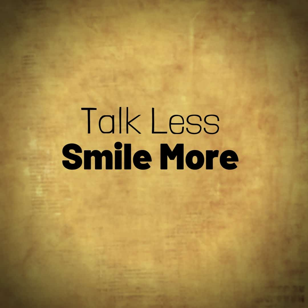 Talk Less, Smile More, Hamilton The Musical
