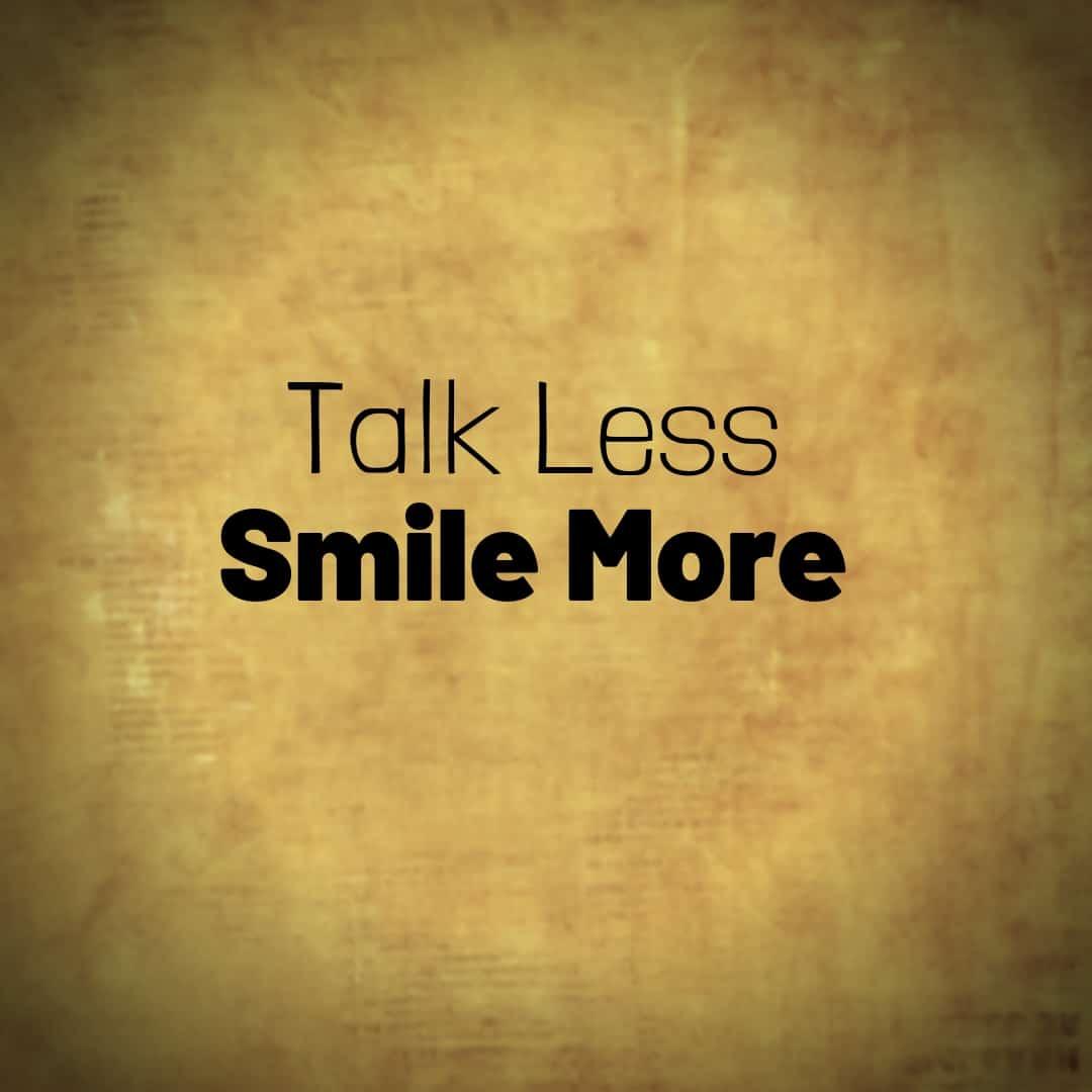 Talk Less, Smile More, Hamilton The Musical