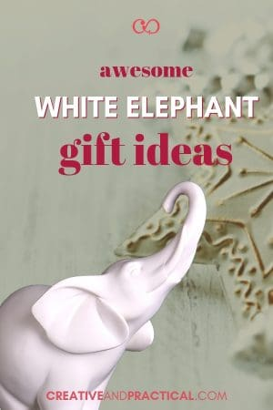 Awesome White Elephant Gift Ideas for your next Party