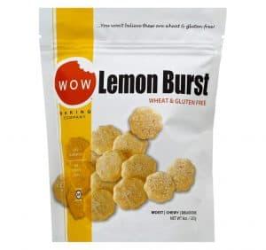 Wow Lemon Burst Gluten Free Cookies