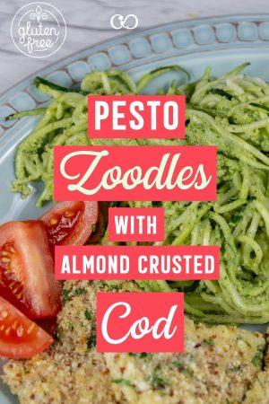 Zucchini Recipe: Pesto Zoodles with Cod