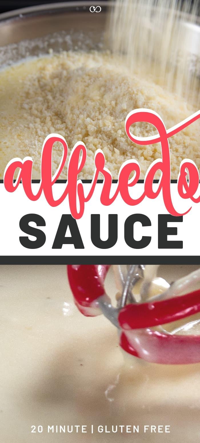 Alfredo Sauce made from Scratch