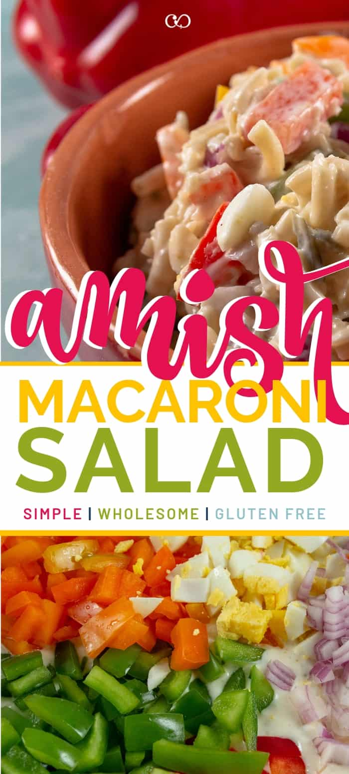 The Best Amish Macaroni Salad
