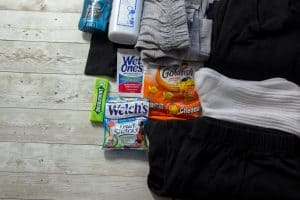 Items that are great for DIY blessing bags. Learn what items make sense for the