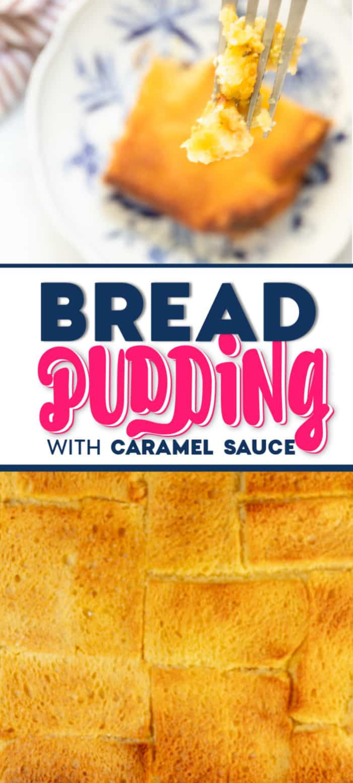 Freshly baked Bread Pudding