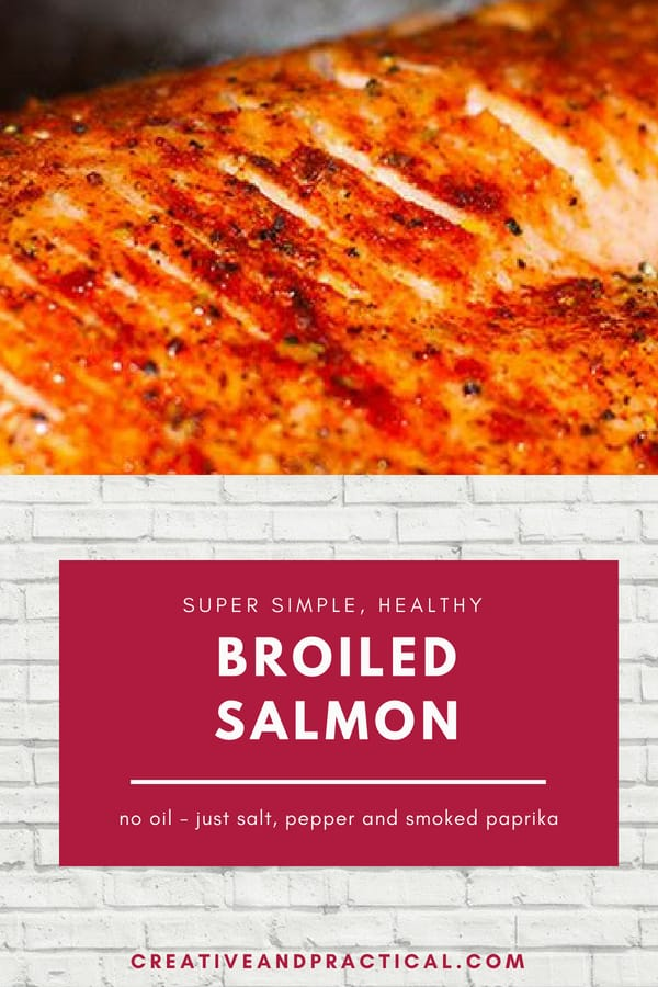 This Salmon recipe is healthy (no oil), super simple to make, easy to prep, super nutritious, and great for thyroid patients, and super versatile. You can enjoy it over pasta, with salad, or potatoes, fries, lentils, even soup. The possibilities are endless. #salmon #nooilrecipe #recipe #fishrecipe #easyrecipe #healthyrecipe #dinner #hypothyroid