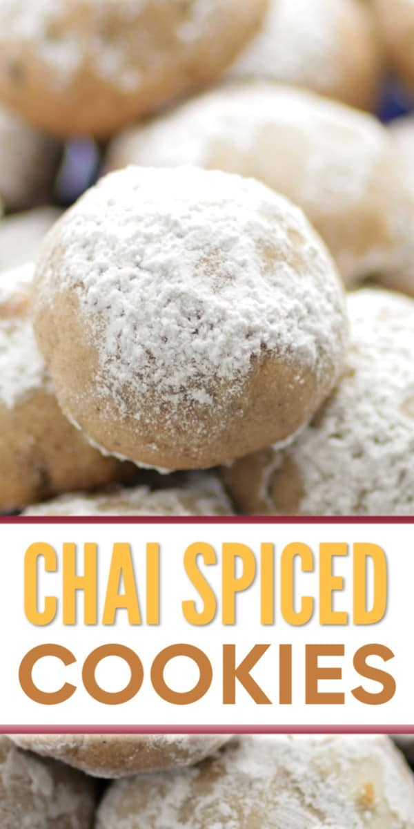 The Best Chai Spiced Cookie Recipe