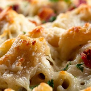 Chicken Bacon Ranch Casserole