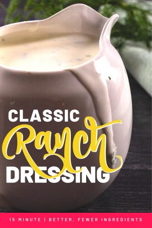 Classic Ranch Dressing