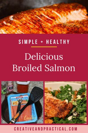 This Salmon recipe is healthy (no oil), super simple to make, easy to prep, super nutritious, and great for thyroid patients, and super versatile. You can enjoy it over pasta, with salad, or potatoes, fries, lentils, even soup. The possibilities are endless.