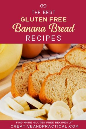 Collection of some of the best gluten free banana bread recipes!