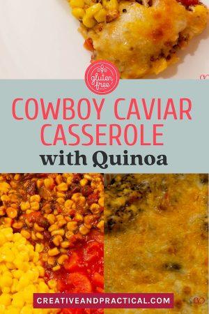 Gluten Free Cowboy Caviar Casserole