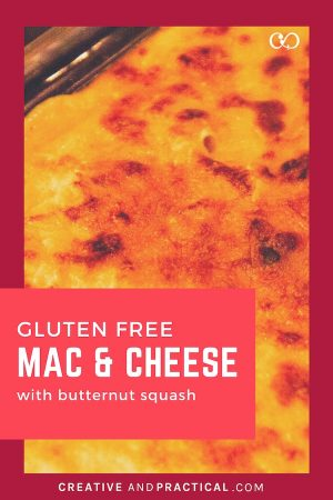 Gluten Free Mac and Cheese with Butternut Squash