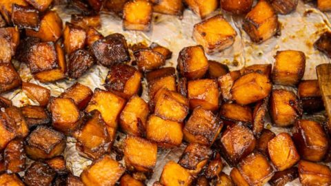 Fresh from the oven: Honey Roasted Sweet Potatoes