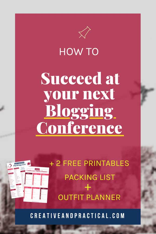 Learn how to succeed at your next blogging conference and maximize the investment you have made in yourself and your business.