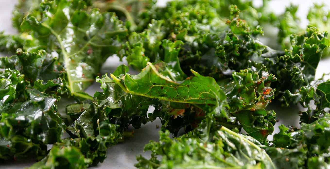 The kale has been massaged with extra virgin olive and salt and then drizzled with smoked sweet paprika! Yum