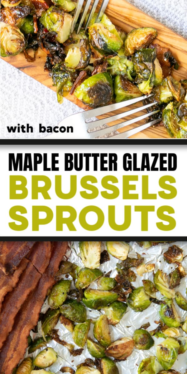 Roasted Brussel Sprouts in Maple Butter