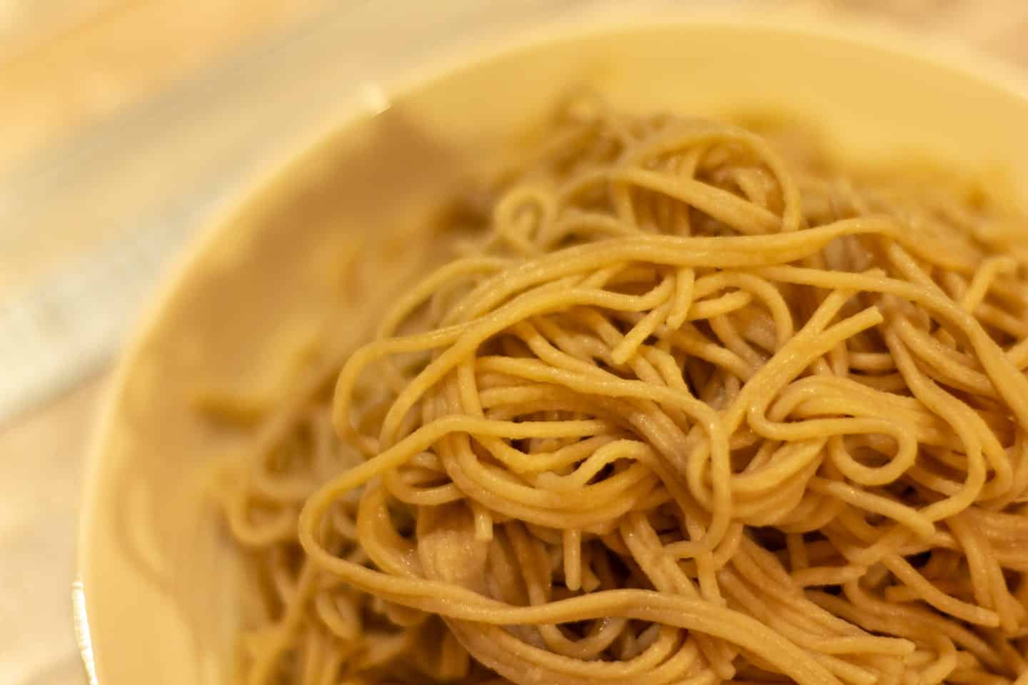 Brown Rice Quinoa Pasta reminds you at first of the Whole Wheat pasta. But the texture is quiet different.