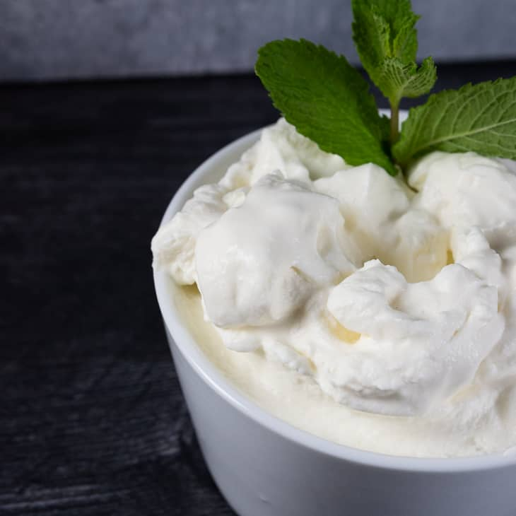 Fresh Mint Whipped Cream