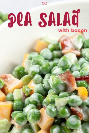 Gluten-Free Pea Salad with Bacon