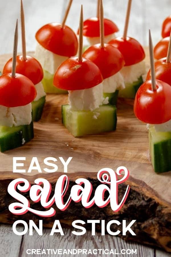 Pinterest-worthy Salad on a Stick