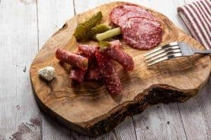 Salami Rolls - Easy Appetizer